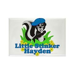 Little Stinker Hayden Rectangle Magnet