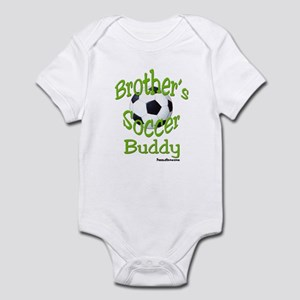 SOCCER BROTHER'S BUDDY Infant Bodysuit