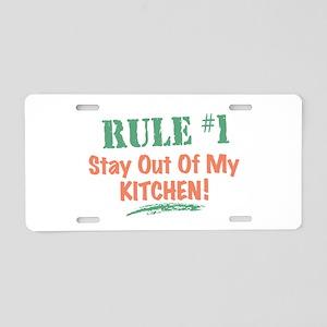 Kitchen Aluminum License Plate