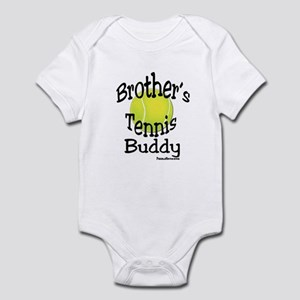 TENNIS BROTHER'S BUDDY Infant Bodysuit