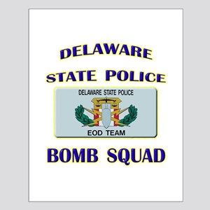 Delaware State Police EOD Tea Small Poster