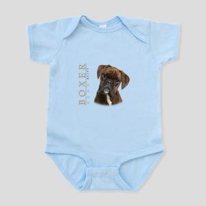 Brindle Boxer Infant Bodysuit