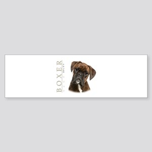Brindle Boxer Sticker (Bumper)
