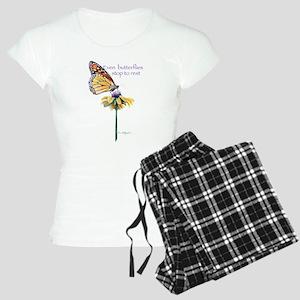Monarch butterfly resting Women's Light Pajamas