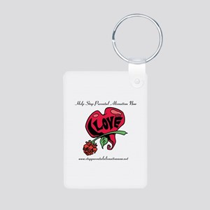 Cards, Stickers & More Aluminum Photo Keychain