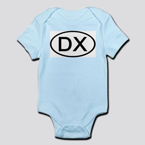DX - Initial Oval Infant Creeper