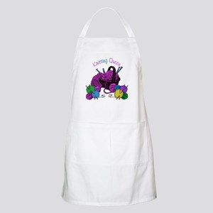 Knitting Queen BBQ Apron
