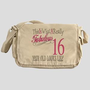 16th Birthday Gifts Messenger Bag