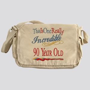 Incredible At 90 Messenger Bag