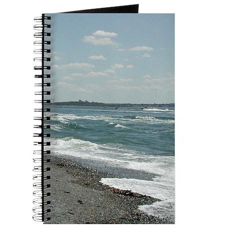 Ocean Waves on Beach Journal