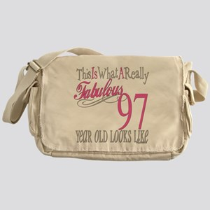97th Birthday Gifts Messenger Bag