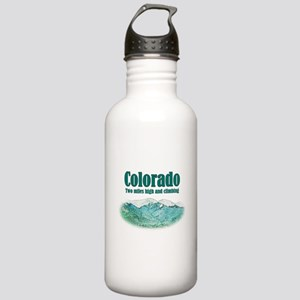 Colorado 2 Miles High Stainless Water Bottle 1.0L