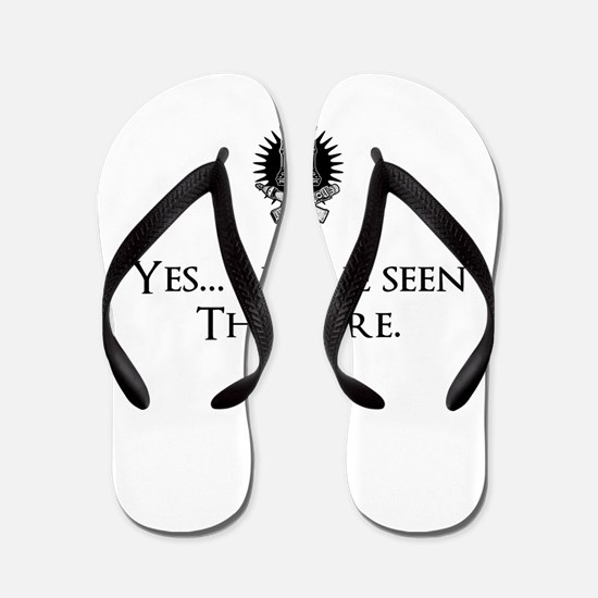 Yes, I've Seen The Wire Flip Flops