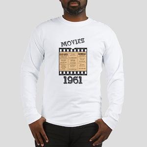 1961 Movies Long Sleeve T-Shirt