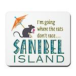 Sanibel Rat Race - Mousepad