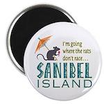 Sanibel Rat Race - Magnet
