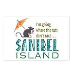 Sanibel Rat Race - Postcards (Package of 8)