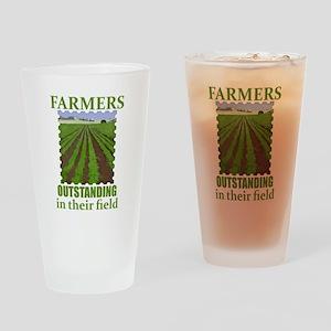 Outstanding Farmers Drinking Glass
