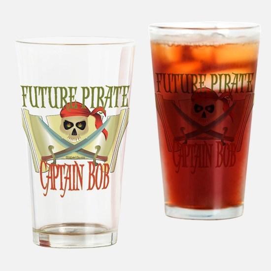 Future Pirates Drinking Glass