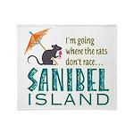 Sanibel Rat Race - Throw Blanket