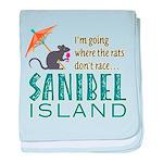 Sanibel Rat Race - baby blanket