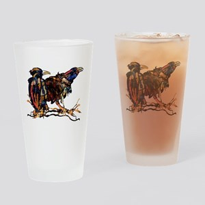 Raven Trio Drinking Glass