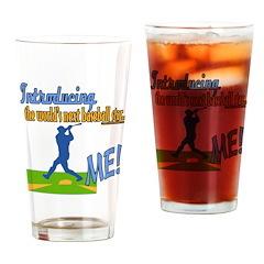 Future Baseball Star Drinking Glass