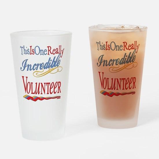 Incredible Volunteer Drinking Glass