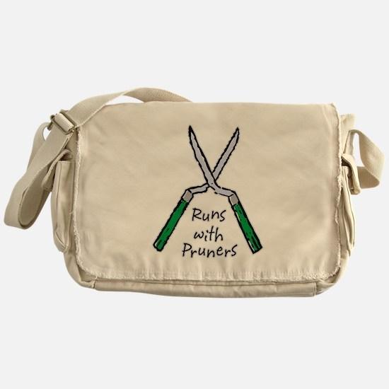 Runs with Pruners Messenger Bag