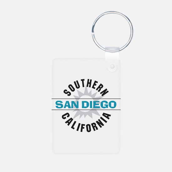San Diego California Keychains