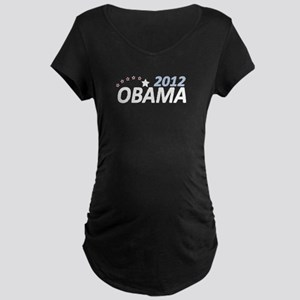 Obama 2012 Maternity Dark T-Shirt