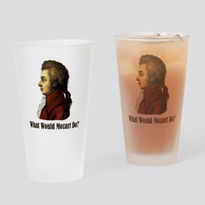 Mozart Drinking Glass
