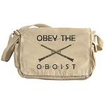 Obey the Oboist Messenger Bag