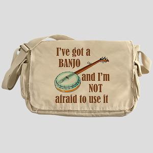 I've Got a Banjo Messenger Bag