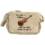 I've Got a Viola Messenger Bag