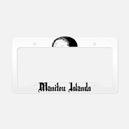 Manitou Islands Pirate License Plate Holder