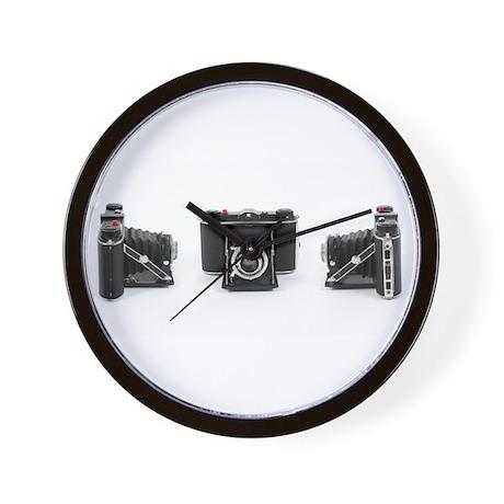 Retro Photography Wall Clock