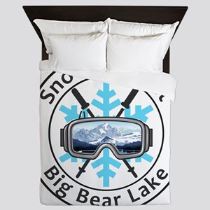 Snow Summit - Big Bear Lake - Califo Queen Duvet