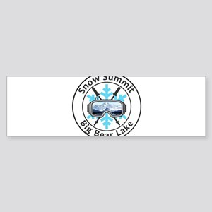 Snow Summit - Big Bear Lake - Cal Bumper Sticker