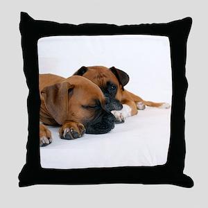 Boxers 1 Throw Pillow