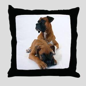 Boxers 2 Throw Pillow