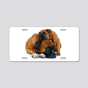 Boxer 3 Aluminum License Plate