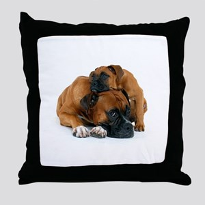 Boxer 3 Throw Pillow