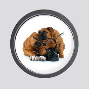 Boxer 3 Wall Clock