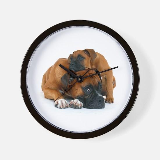 Boxer 3 Wall Clock