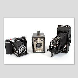 Retro Cameras Postcards (Package of 8)