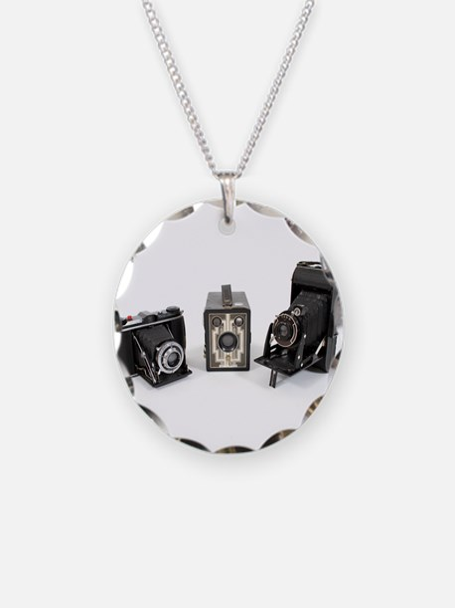 Retro Cameras Necklace