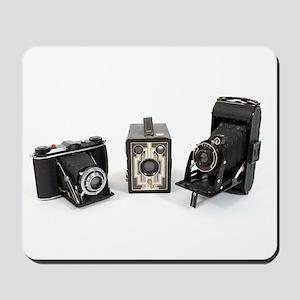 Retro Cameras Mousepad