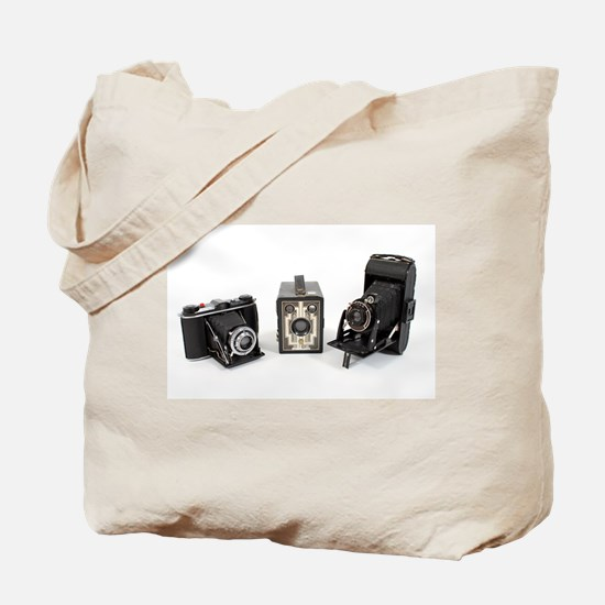 Retro Cameras Tote Bag