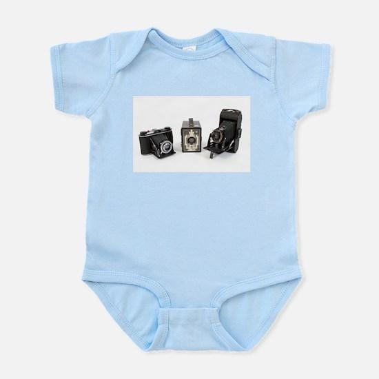 Retro Cameras Infant Bodysuit